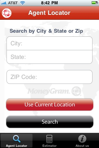 MoneyGram Mobile Companion screenshot 1